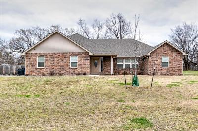Stroud OK Single Family Home For Sale: $165,000