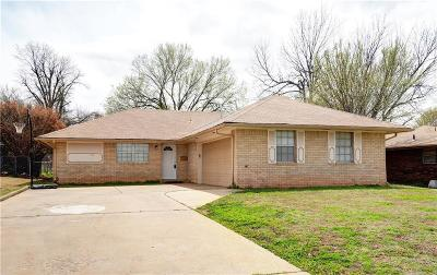 Midwest City Single Family Home For Sale: 108 E Blossom Drive