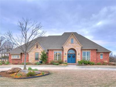 Choctaw Single Family Home For Sale: 227 Quail Hollow Way