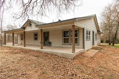 Blanchard Single Family Home For Sale: 2433 County Road 1344