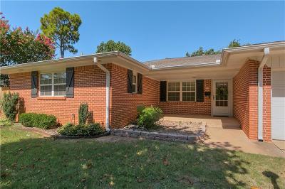 Oklahoma City Single Family Home For Sale: 10505 Lyndon Road