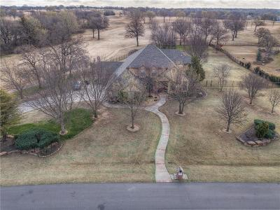 Edmond Single Family Home For Sale: 11016 Old River Trail