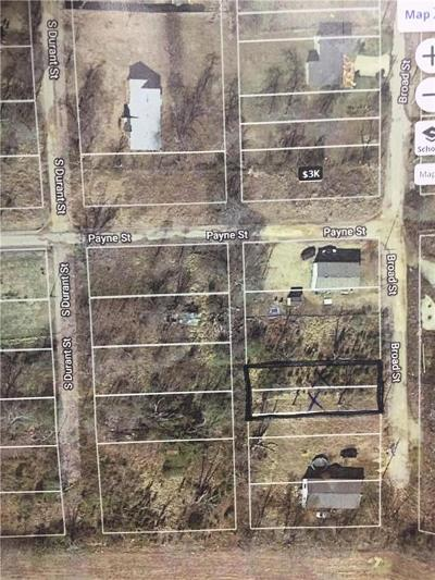 Hugo Residential Lots & Land For Sale: 128 S Broad Street