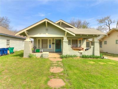 Oklahoma City Single Family Home For Sale: 1531 NW 29th Street