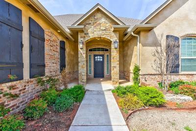 Mustang Single Family Home For Sale: 5713 Ledgestone Drive