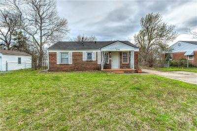 Midwest City Single Family Home For Sale: 202 W Peach Street