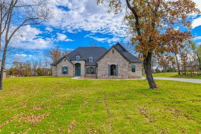 Choctaw Single Family Home For Sale: 914 Hunters Hollow