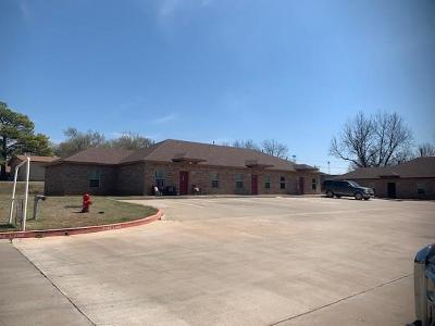Chickasha Multi Family Home For Sale: 2216 W Utah Street