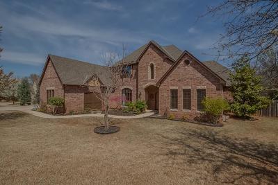 Edmond Single Family Home For Sale: 3808 Creek Bend Road