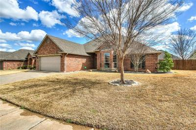 Canadian County, Oklahoma County Single Family Home For Sale: 4708 NW 159th Street