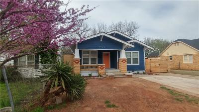 Oklahoma City Single Family Home For Sale: 2023 NW 28th Street