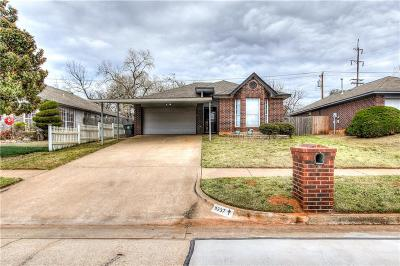 Midwest City Single Family Home For Sale: 9237 Apple Drive