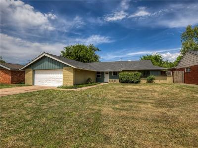 Oklahoma City Single Family Home For Sale: 2709 NW 110th Street