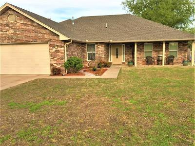 Stroud OK Single Family Home For Sale: $149,500