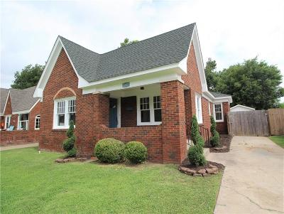 Oklahoma City Single Family Home For Sale: 2837 NW 17th Street