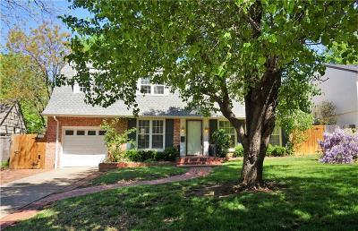 Nichols Hills Single Family Home For Sale: 1107 Hemstead Place