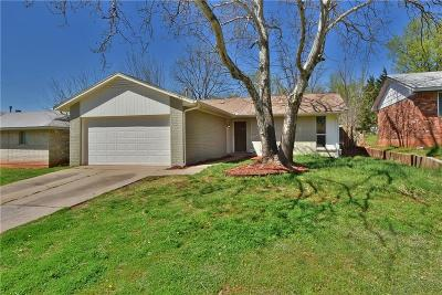 Del City Single Family Home For Sale: 3513 Frostwood Terrace