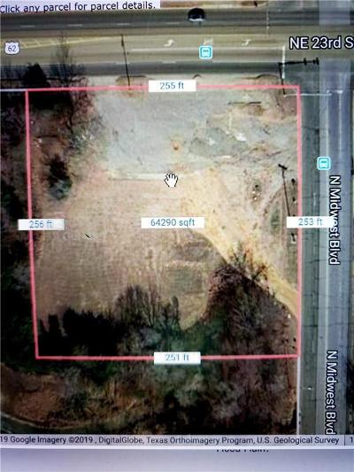 Oklahoma City Residential Lots & Land For Sale: 8002 NE 23 Street
