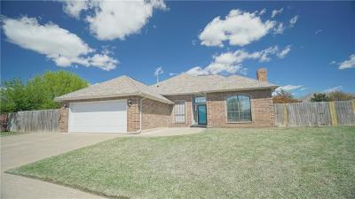 Oklahoma City Single Family Home For Sale: 600 SW 156th Place