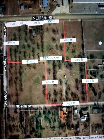 Midwest City Residential Lots & Land For Sale: 8220 NE 23rd Street