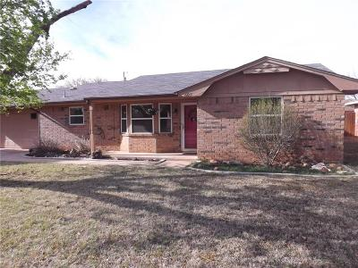 Altus OK Single Family Home For Sale: $141,500