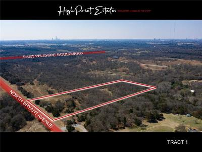Oklahoma City Residential Lots & Land For Sale: 2601 E Wilshire Tract 1 Boulevard