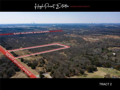 Oklahoma City Residential Lots & Land For Sale: 2601 E Wilshire Tract 2 Boulevard