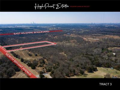 Oklahoma City Residential Lots & Land For Sale: 2601 E Wilshire Tract 3 Boulevard