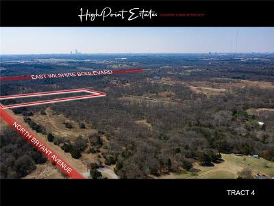 Oklahoma City Residential Lots & Land For Sale: 2601 E Wilshire Tract 4 Boulevard