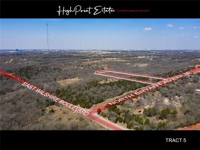 Oklahoma City Residential Lots & Land For Sale: 2601 E Wilshire Tract 5 Boulevard