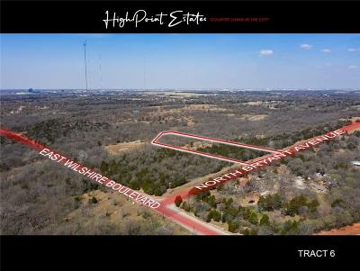 Oklahoma City Residential Lots & Land For Sale: 2601 E Wilshire Tract 6 Boulevard
