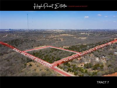 Oklahoma City Residential Lots & Land For Sale: 2601 E Wilshire Tract 7 Boulevard