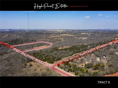 Oklahoma City Residential Lots & Land For Sale: 2601 E Wilshire Tract 8 Boulevard