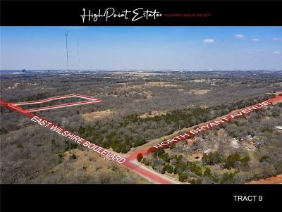 Oklahoma City Residential Lots & Land For Sale: 2601 E Wilshire Tract 9 Boulevard