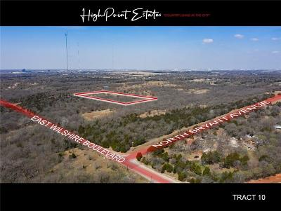 Oklahoma City Residential Lots & Land For Sale: 2601 E Wilshire Tract 10 Boulevard