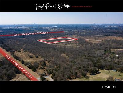 Oklahoma City Residential Lots & Land For Sale: 2601 E Wilshire Tract 11 Boulevard