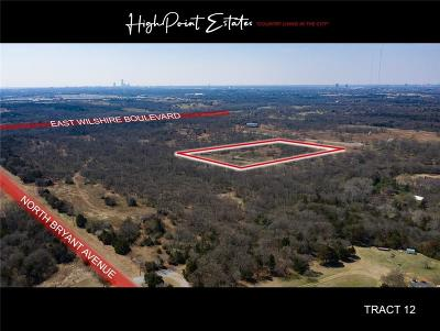 Oklahoma City Residential Lots & Land For Sale: 2601 E Wilshire Tract 12 Boulevard
