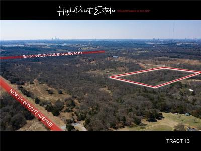 Oklahoma City Residential Lots & Land For Sale: 2601 E Wilshire Tract 13 Boulevard