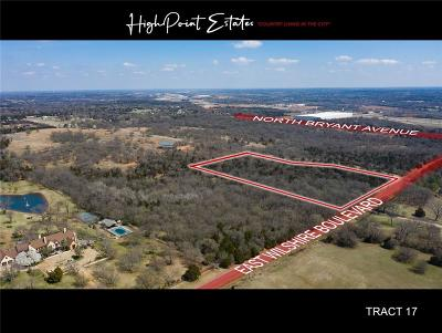 Oklahoma City Residential Lots & Land For Sale: 2601 E Wilshire Tract 17 Boulevard
