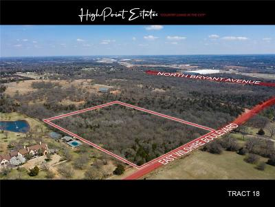 Oklahoma City Residential Lots & Land For Sale: 2601 E Wilshire Tract 18 Boulevard