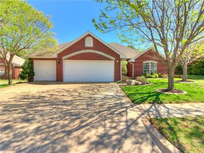 Edmond Single Family Home For Sale: 1729 Del Simmons Drive