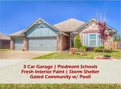 Piedmont Single Family Home For Sale: 12021 NW 138th Street