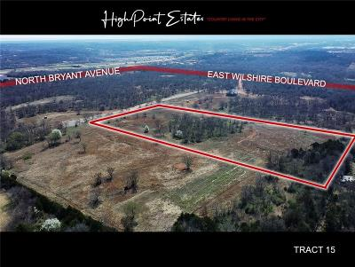 Oklahoma City Residential Lots & Land For Sale: 2601 E Wilshire Tract 15 Boulevard