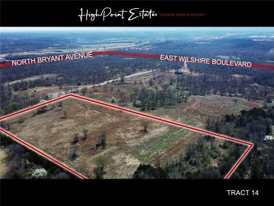Oklahoma City Residential Lots & Land For Sale: 2601 E Wilshire Tract 14 Boulevard