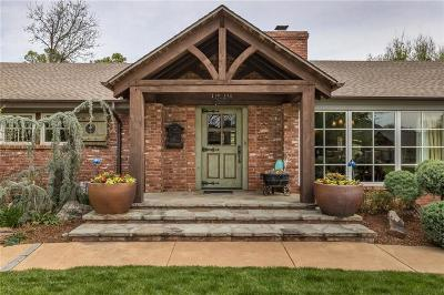 Nichols Hills OK Single Family Home For Sale: $1,095,000