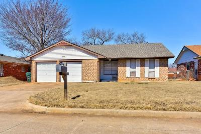 Midwest City Single Family Home Pending: 9719 NE 2nd Place