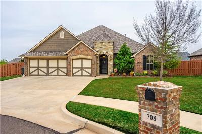 Edmond Single Family Home For Sale: 708 Winning Colors Drive