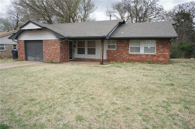 Canadian County, Oklahoma County Single Family Home For Sale: 5706 N Rhode Island Avenue