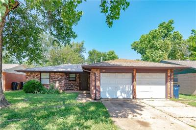 Oklahoma City Single Family Home For Sale: 5513 S Dimple Drive