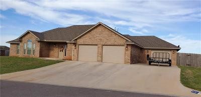 Altus Single Family Home For Sale: 3137 White Tail Drive